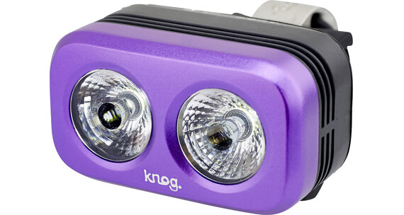 Knog Blinder Outdoor 2 weiße LED grape